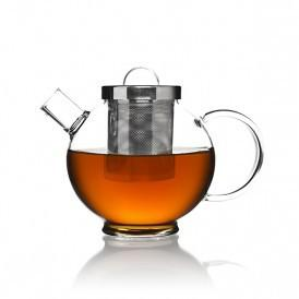 ROUND GLASS TEAPOT 0.5L